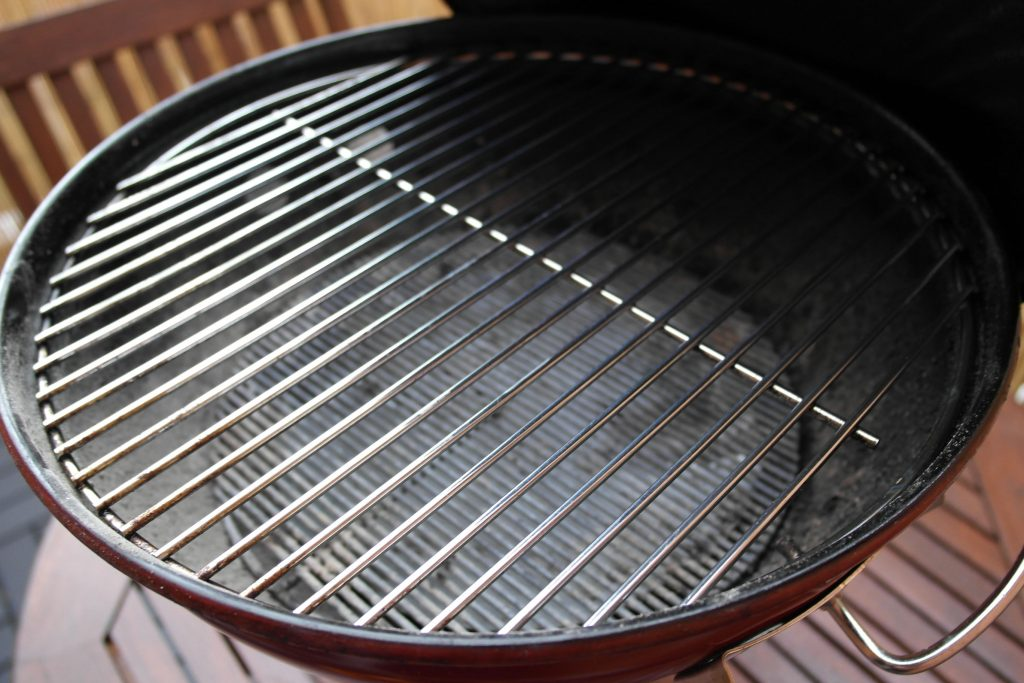 Weber Smokey Joe Premium Review - Barbecue After Use