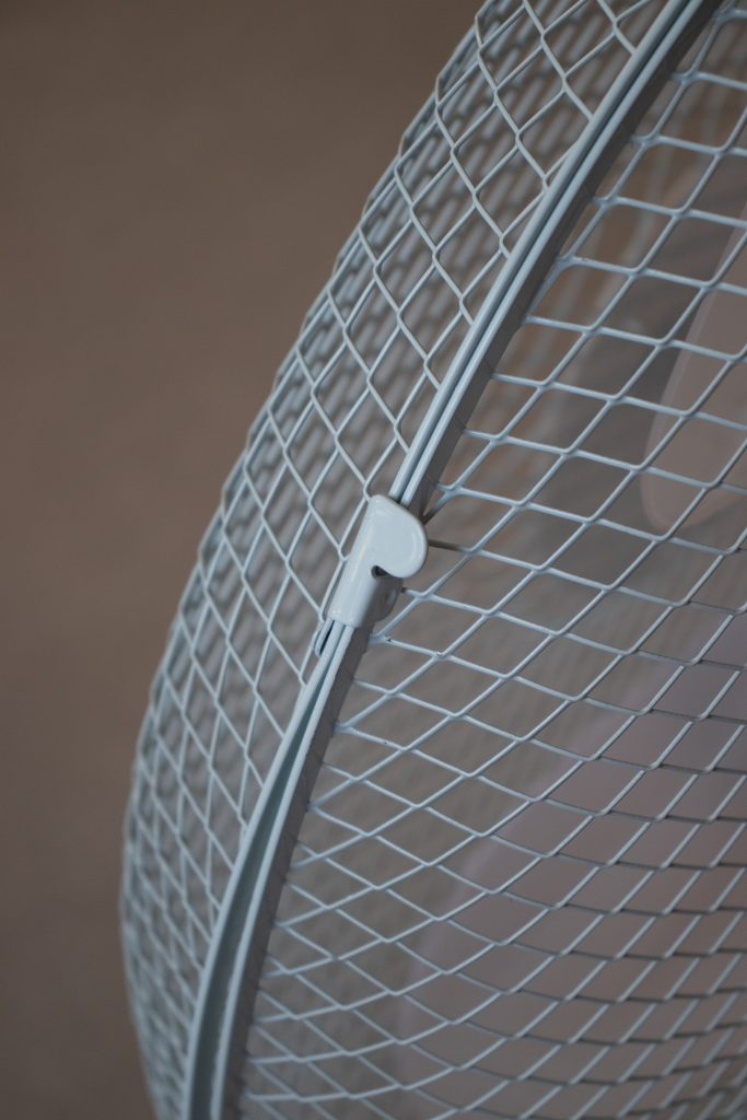 Prem-I-Air Fan Review - Metal Grill