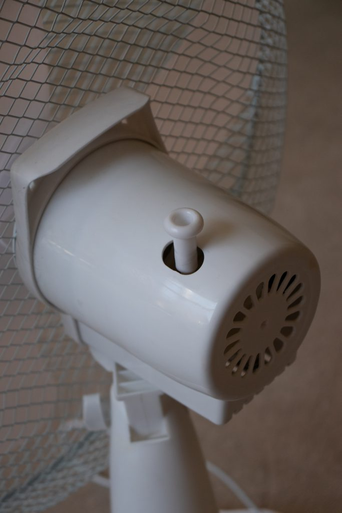 Prem-I-Air Fan Review - Closeup Rear